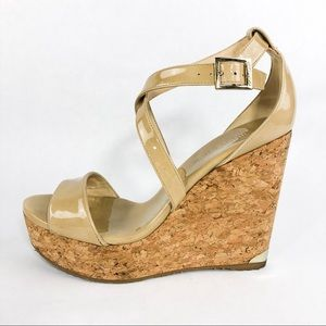 Jimmy Choo | Patent Leather Wedges